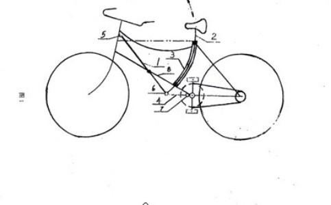 本专利自行车结构