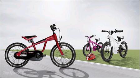 奔驰推出一系列自行车产品