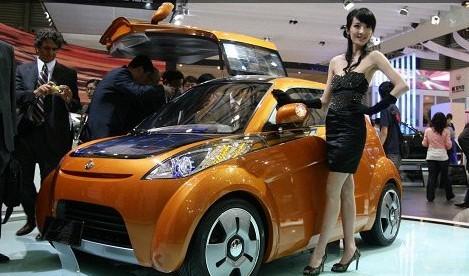 1万元 吉利太阳能概念电动汽车高清图片