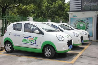 电动汽车商业模式调查 只租不售的康迪 微公交高清图片