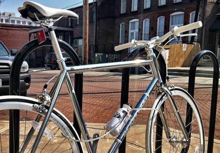 自行车水壶防盗锁
