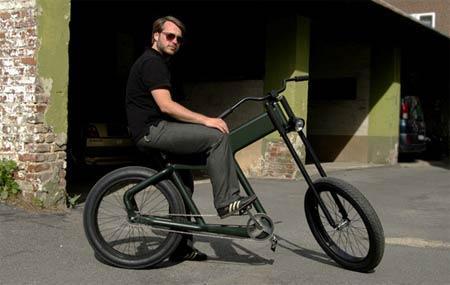 创意哈雷自行车