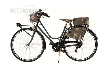 男装品牌跨界自行车