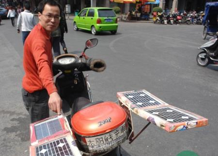 电动车不用充电可续航?