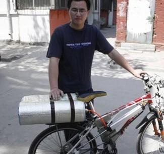 空气动力自行车诞生