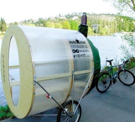 自行车+桑拿房的新概念