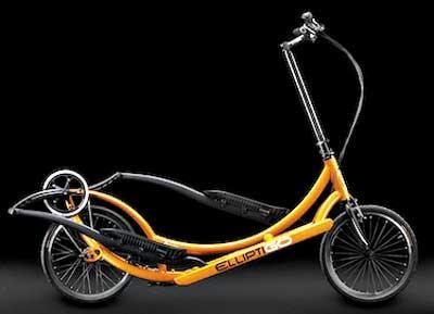 站立式自行车