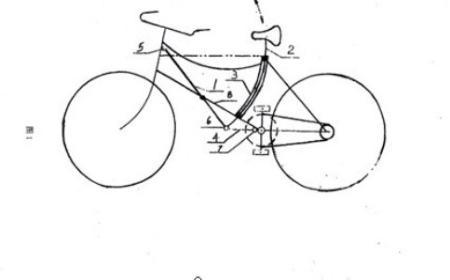 省力自行车专利