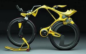 未来感十足的概念自行车