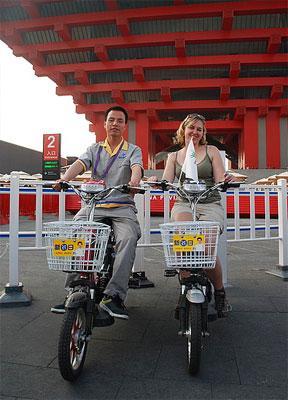 新日 电动车引领未来绿色节能生活高清图片