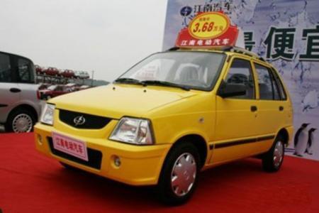 众泰江南TT电动汽车登陆贵阳 分低速和高速高清图片
