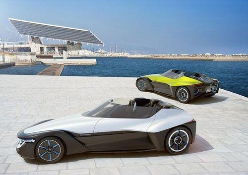 日产概念三角羽翼电动汽车即将亮相东京展