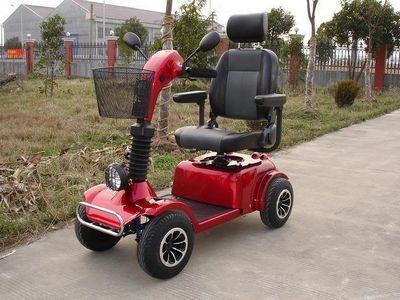 适合老人使用的电动代步车有哪些优势