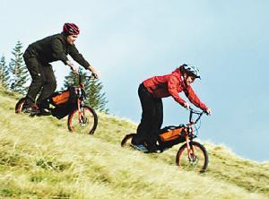 """电动自行车为何颇受""""驴友""""的喜爱?"""