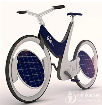 太阳能电动自行车问世