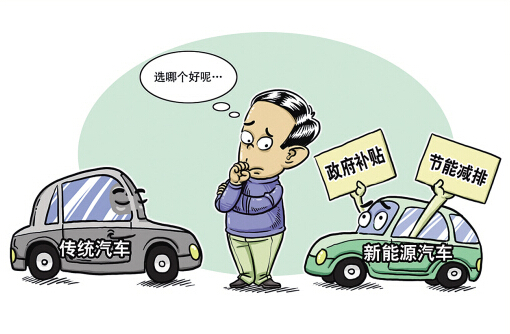 让新能源汽车成为中国