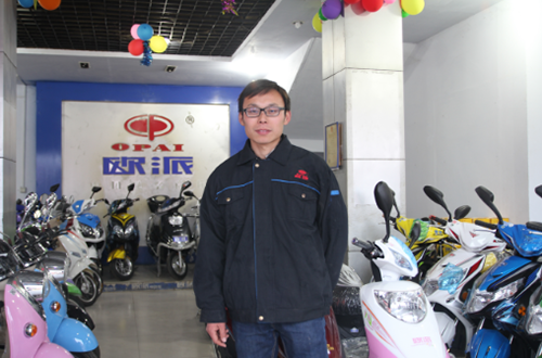 不经意间的缘分——河南省邓州市欧派电动车经销商专访