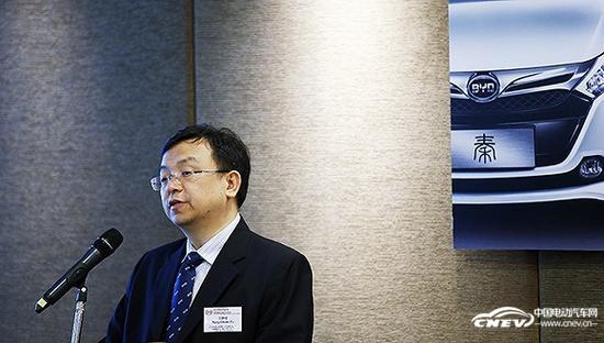 比亚迪董事长王传福:新能源汽车今年销售150亿