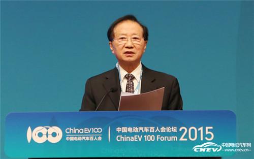 陈清泰:政府该如何构建电动汽车产业新生态