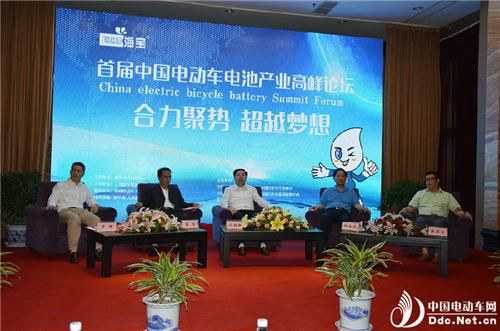 首届中国电动车电池产业高峰论坛在如东举办