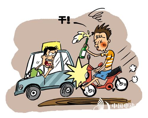酒后驾驶电动车也构成危险驾驶