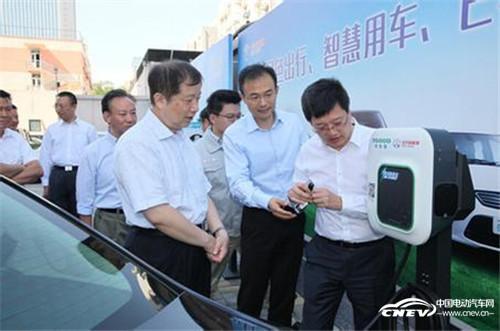 工信部启动新能源汽车分时租赁服务