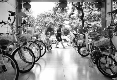 各电动自行车销售点均有合标车销售