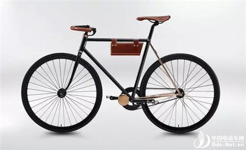 比小牛还厉害!可以给电吉他充电的电动自行车