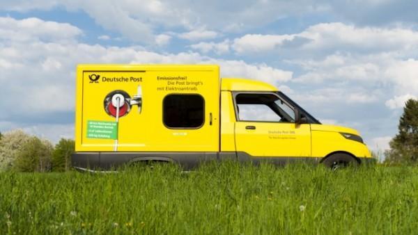 对飙特斯拉 德国邮政自主研发更亲民电动汽车