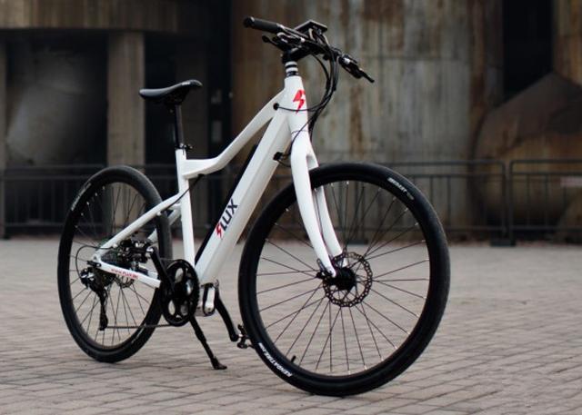 FLUX电动自行车配备了与特斯拉Model S相同的电池