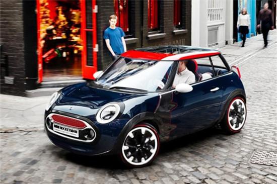宝马MINI ROCKETMAN有望量产 或将作为纯电动汽车