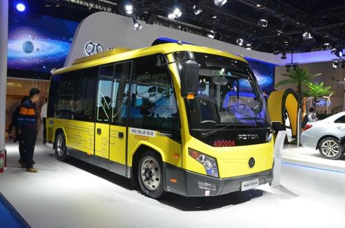 西海岸将建亚洲首条无线快充巴士公交线