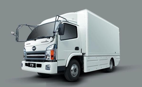 加州拟910万美元采购比亚迪电动卡车