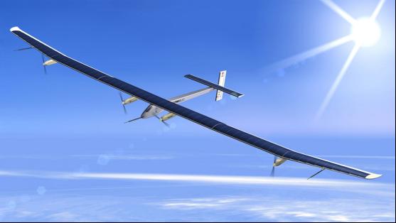 太阳能飞机已完成环球旅行