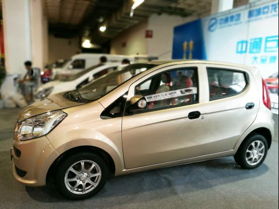 盘点2016北京新能源车展上的低速电动汽车