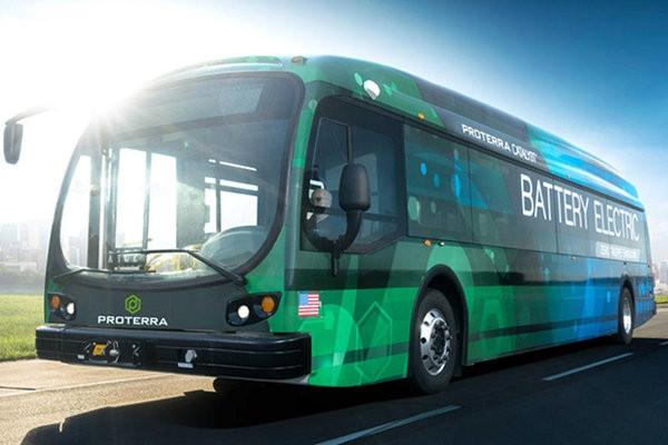 美最新纯电动巴士续航近1000公里