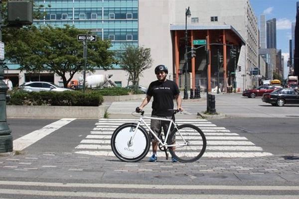 加上踏板辅助装置,自行车变身电动车