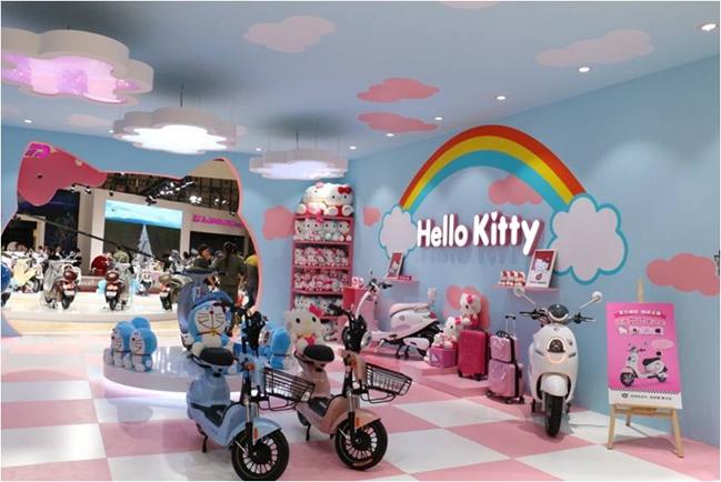 HELLO KITTY 和哆啦A梦?你没看错这就是绿源