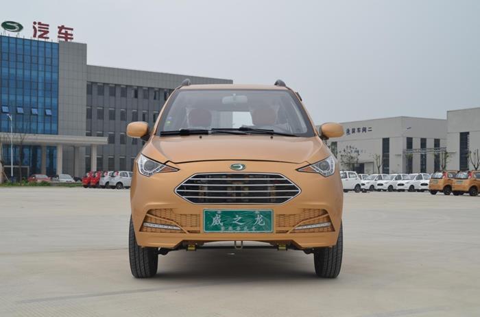威龍攜首款鋰電電動汽車靈龍亮相,行業新生力量助陣南京展