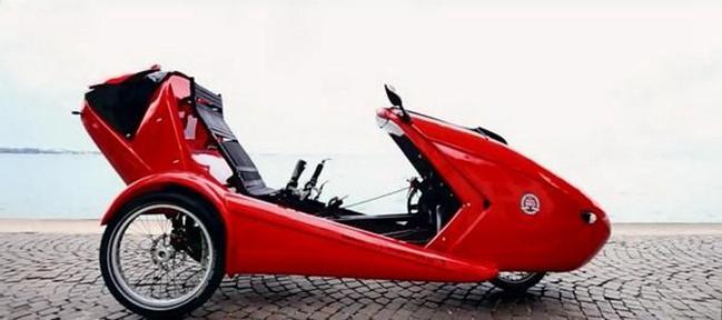 意大利电动辅助三轮车cabriovelo明年上市