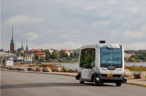 芬兰测试电动自动驾驶公交,或主导未来交通系统