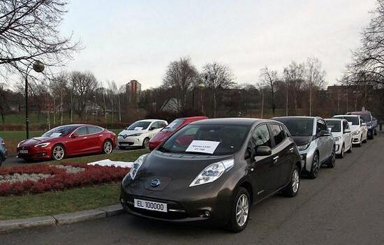 挪威纯电动汽车突破10万辆 大众最受欢迎