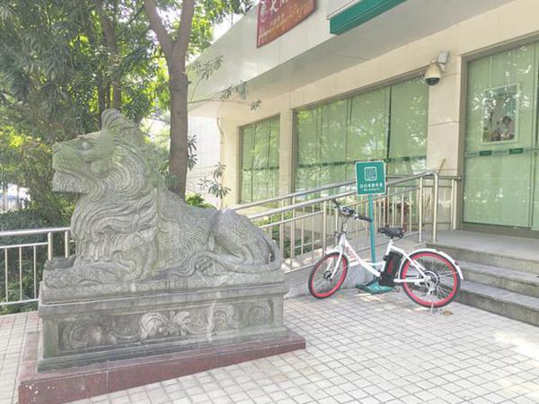 """首批小量""""7号电单车""""在深圳市南山区投放。"""