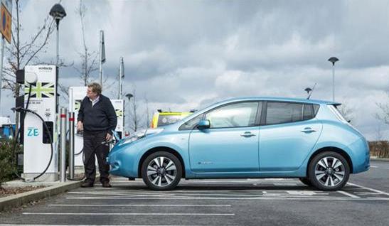 英国鼓励购买电动车 充电桩将统一收费
