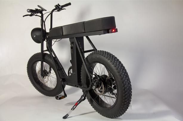 造型复古多功能越野电动自行车即将上市__车