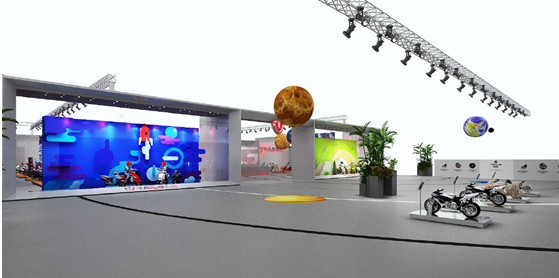 """天津展:台铃""""星之旅""""带你体验超震撼科技"""