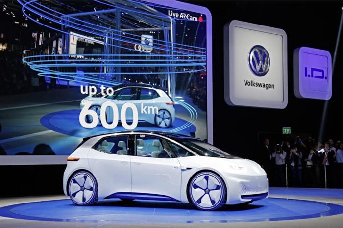 大众 电动汽车 电池