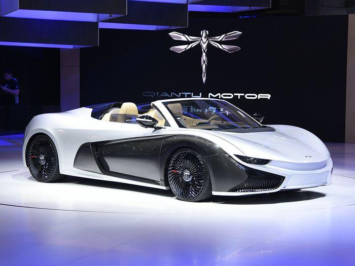 未来已来 2017上海车展四大新能源车企抢镜