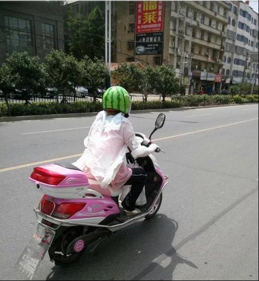 """""""小仙女""""骑行电动车,怎么防晒?都来学学!167.png"""