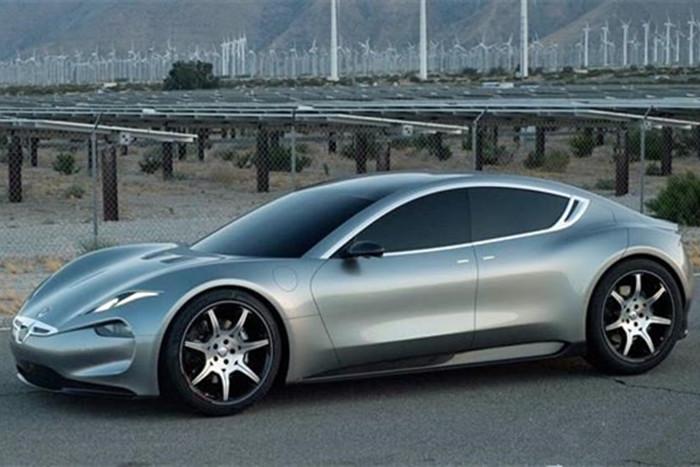 充电9分钟,续航640公里:Fisker Emotion电动汽车现身苹果总部